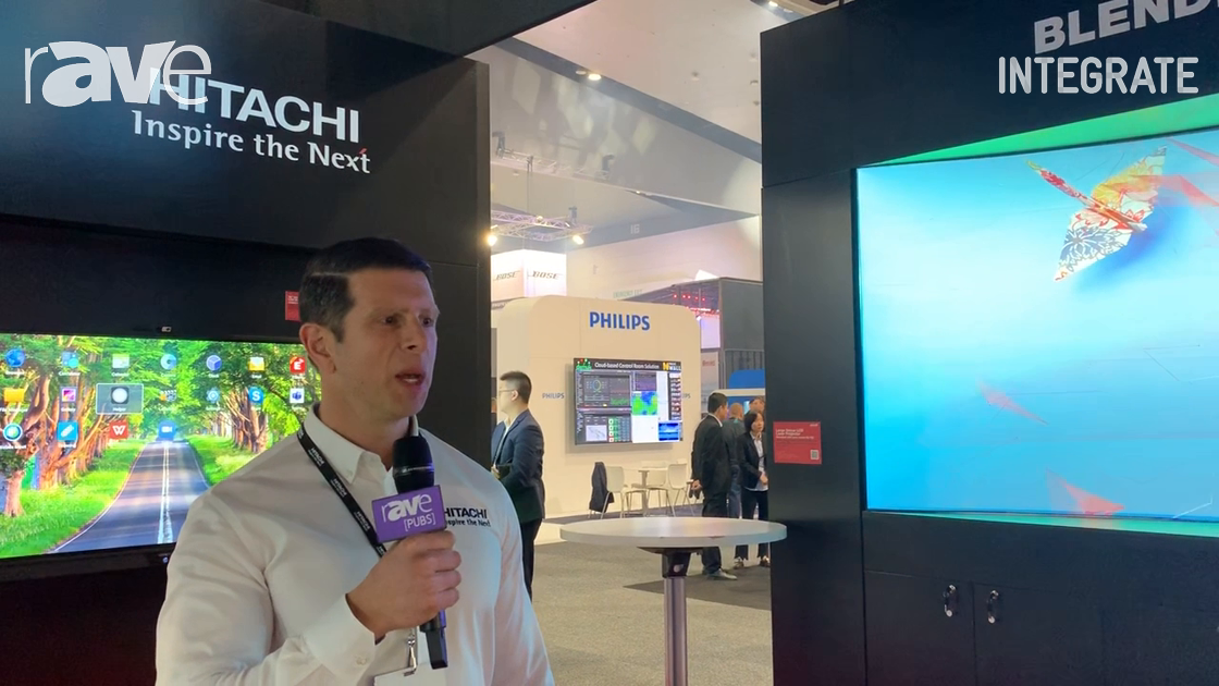 Integrate 2019: Hitachi Highlights the MaxellProAV Projector Blending Tool Software
