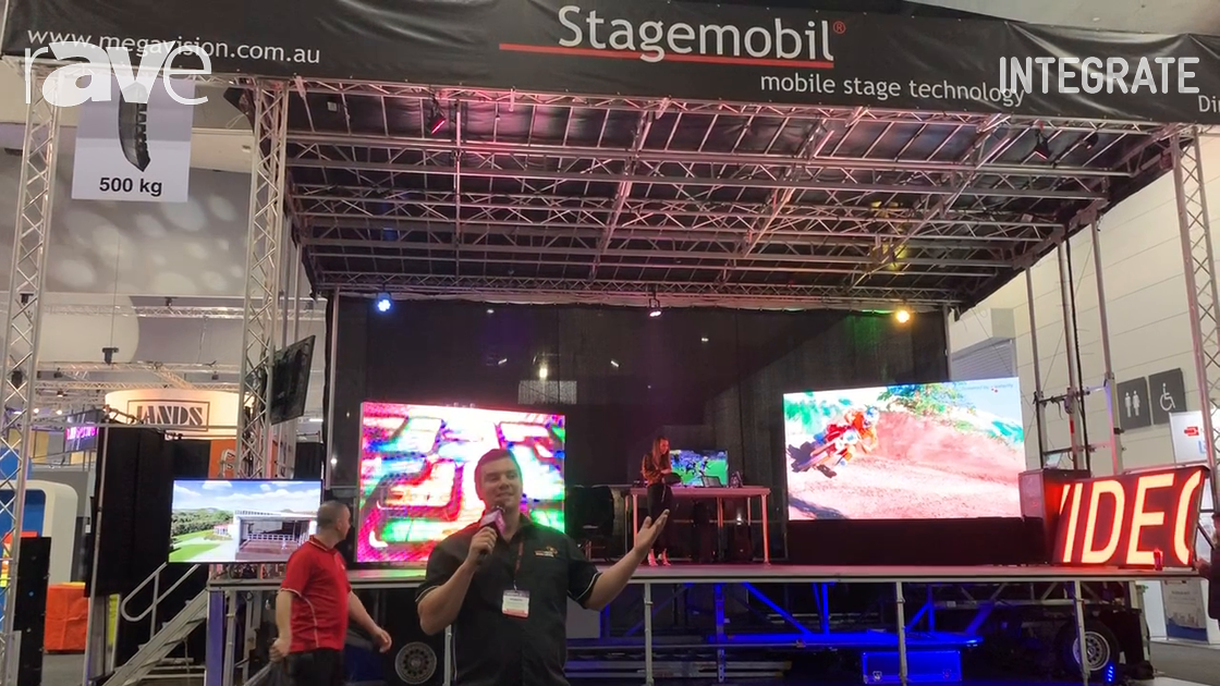 Integrate 2019: Mega Vision Talks Stagemobil Trailer That Can Be Set Up By One Person in 30 Minutes