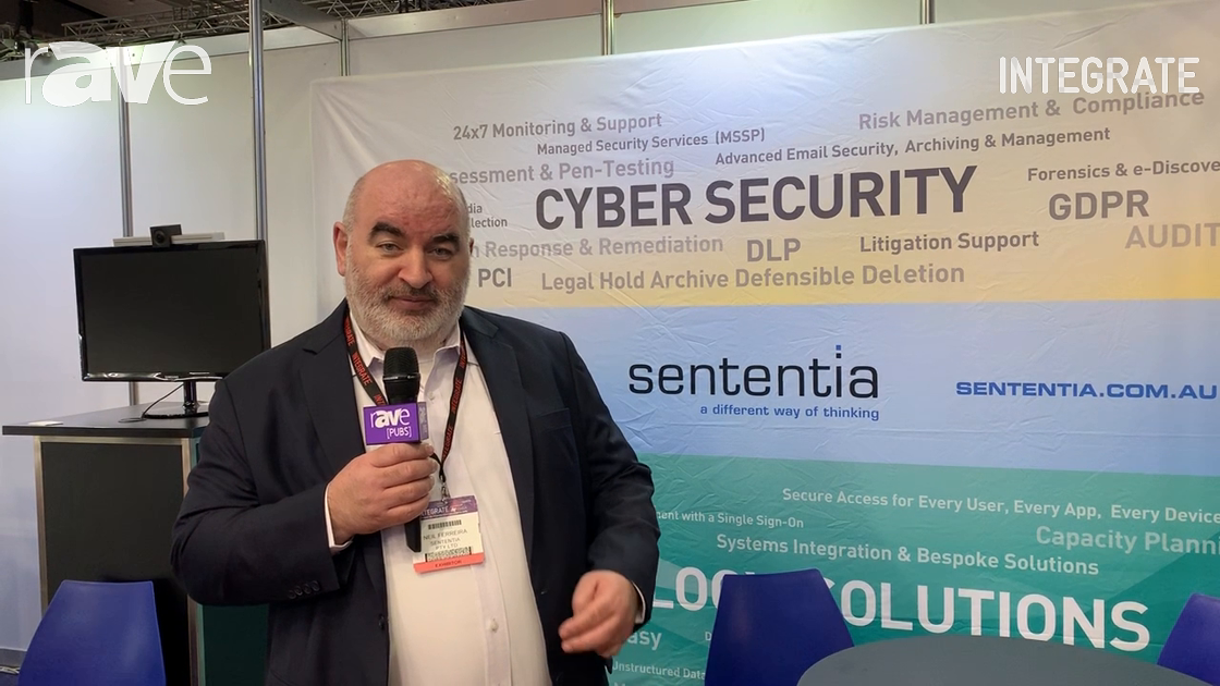 Integrate 2019: Sententia Talks About Cybersecurity and IoT Solutions