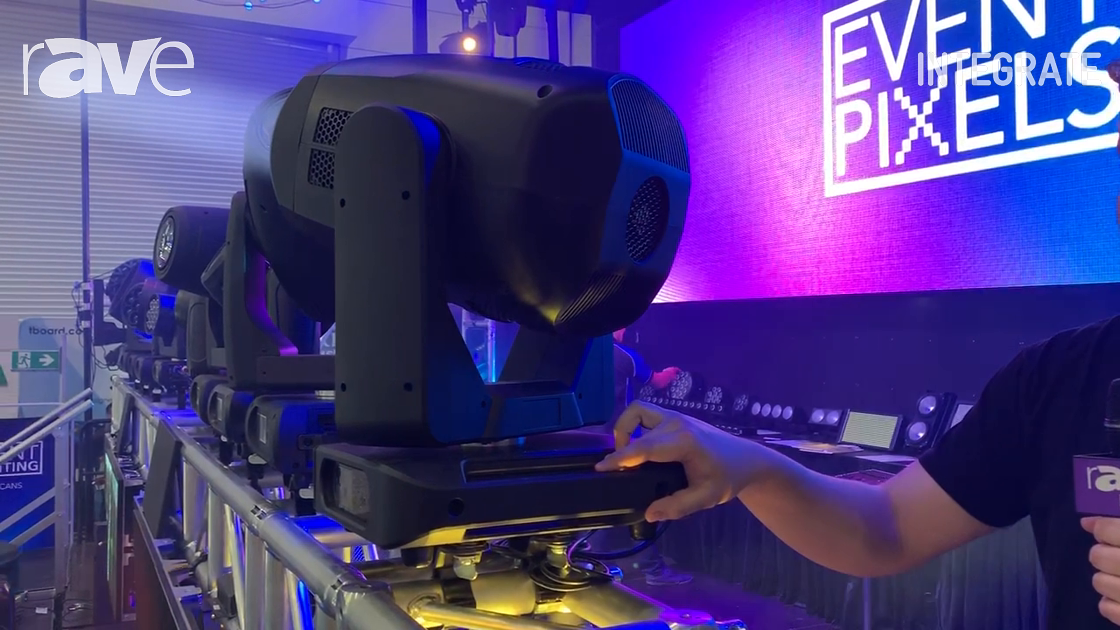 Integrate 2019: Event Lighting Features the Enforcer 580 Moving Head Light