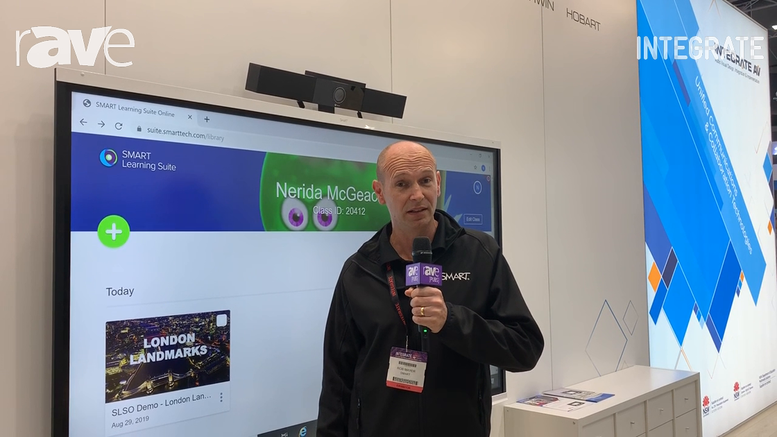 Integrate 2019: SMART Technologies Demos Smart Learning Suite Online