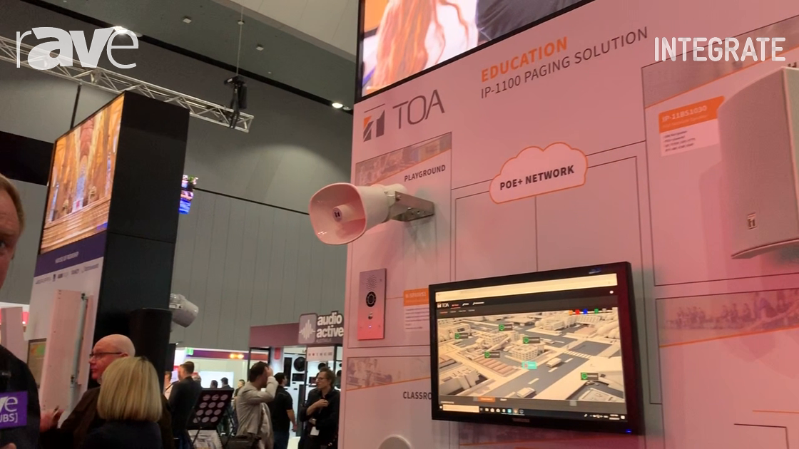 Integrate 2019: TOA Electronics Features the IP-1100 Paging Solution at Australis Music Group