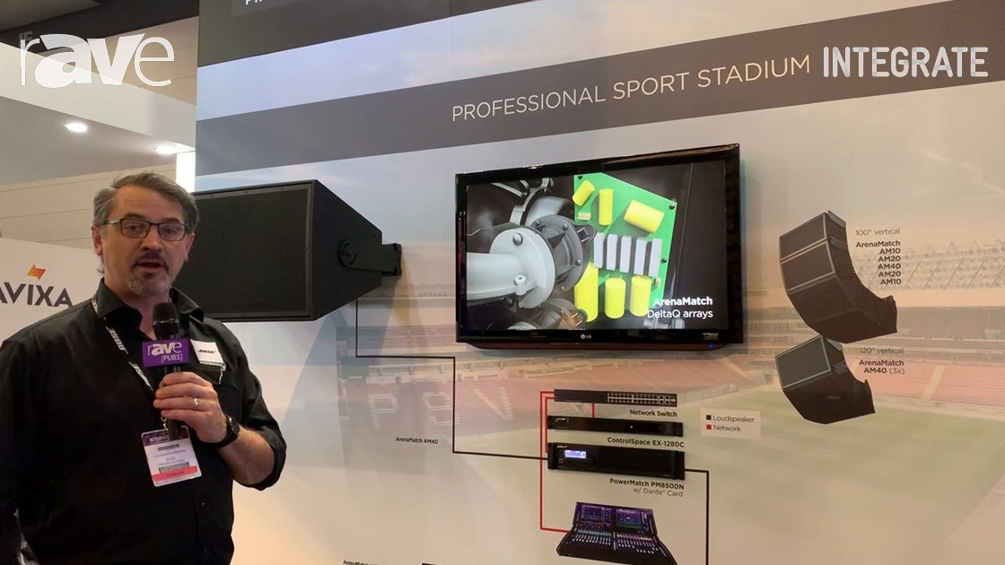 Integrate 2019: Bose Professional Presents Its ArenaMatch Speaker Array