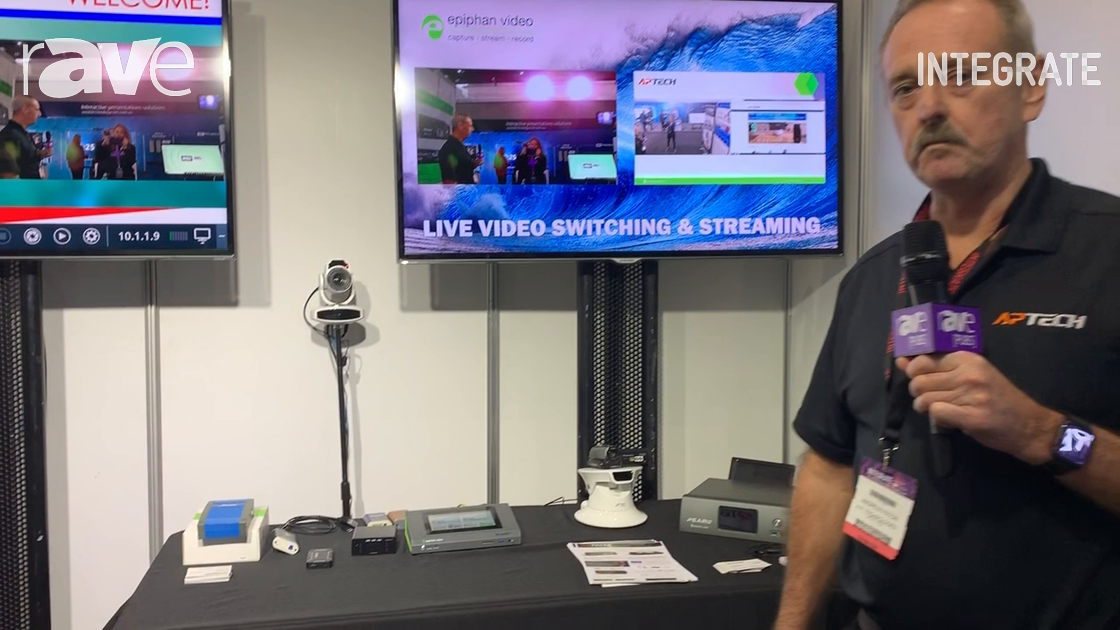 Integrate 2019: AP Technologies Talks About Epiphan Pearl Mini IP Streaming Encoder