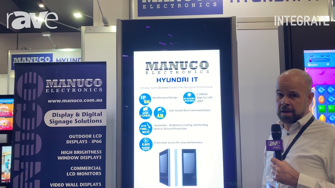 Integrate 2019: Manuco Electronics Debuts Hyundai IT H Series Kiosk