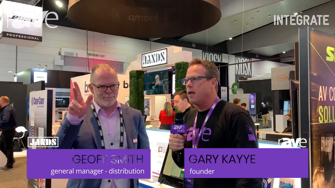 Integrate 2019: Geoff Smith of Jands Talks With Gary Kayye