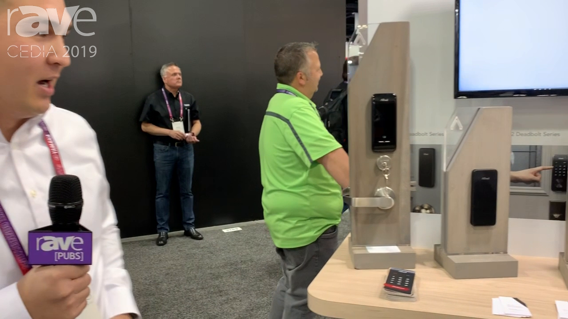 CEDIA 2019: Alfred Inc. Shows Off Its Z-Wave Based Touch Screen Smart Locks