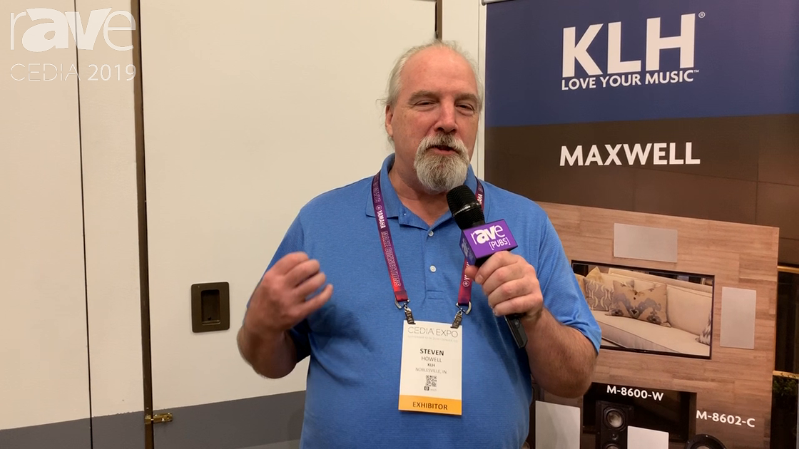 CEDIA 2019: KLH Audio Reveals the New Maxwell 1 Speaker Monitor Available in Multiple Finishes