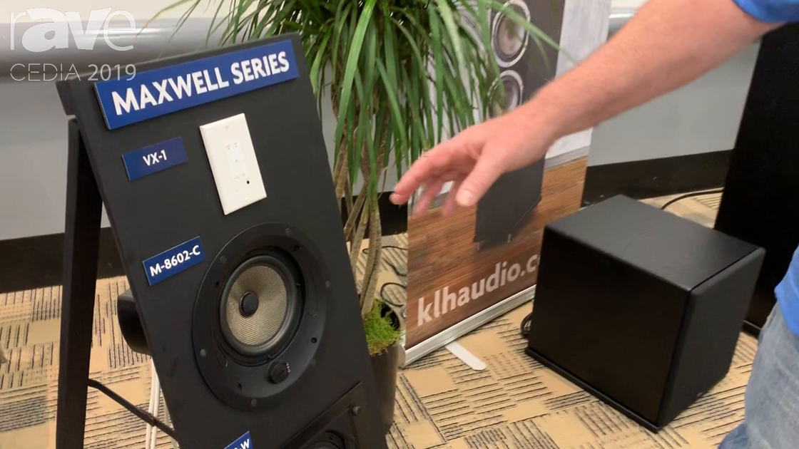 CEDIA 2019: KLH Audio Unveils Maxwell Series 8602 In-Ceiling Speaker With Concentric Driver