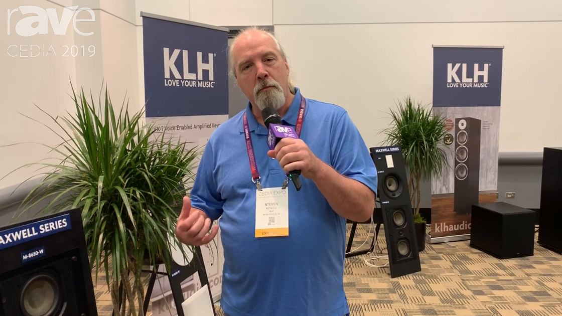 CEDIA 2019: KLH Audio Features Maxwell Series 8650 High-Performance, Three-Way, In-Wall Speaker