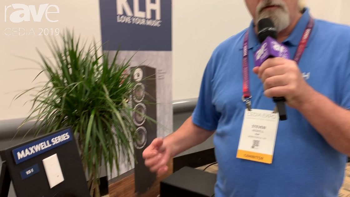 CEDIA 2019: KLH Audio Unveils Maxwell Series VX-1 Wireless Keypad With No New Wires Needed