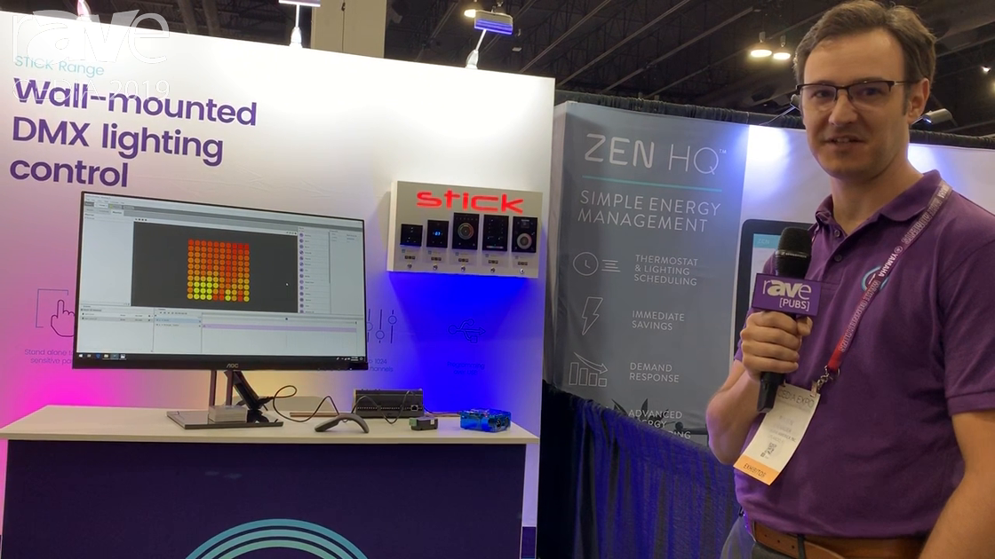 CEDIA 2019: Nicolaudie Features Its Wall-Mounted DMX Lighting Controllers