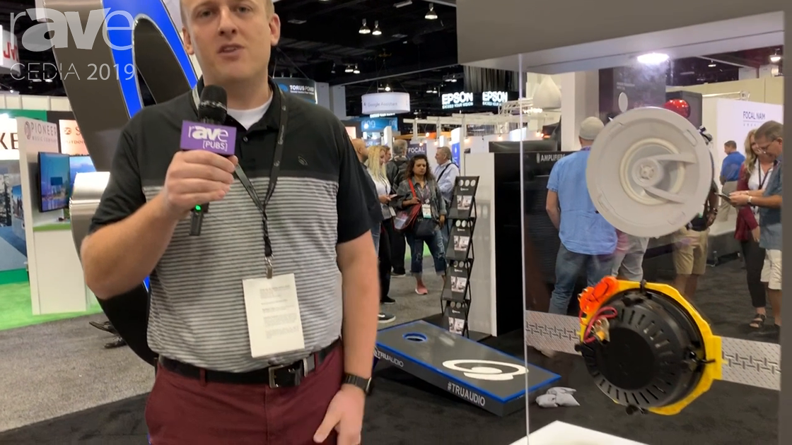 CEDIA 2019: TruAudio Showcases the New Ghost Series In-Ceiling Speakers With Tool-less Design