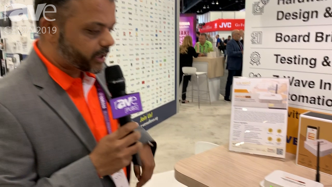 CEDIA 2019: VOLANSYS Features the Centauri 200 Z-Wave 700-Based Gateway