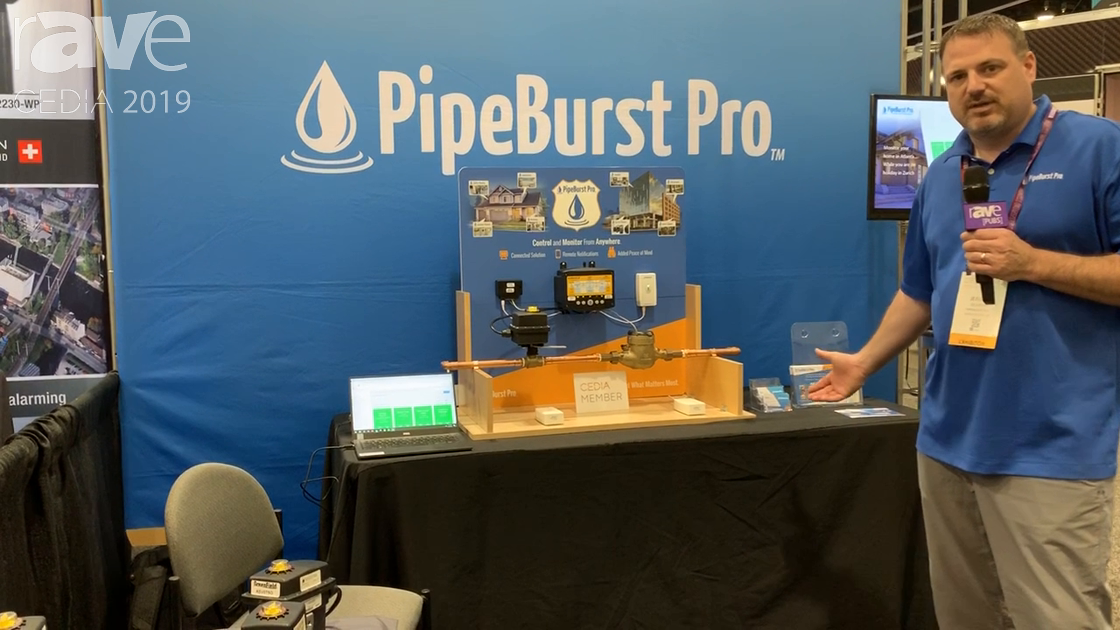 CEDIA 2019: Greenfield Direct Features PipeBurst Pro Water Automatic Shut-Off and Monitoring System