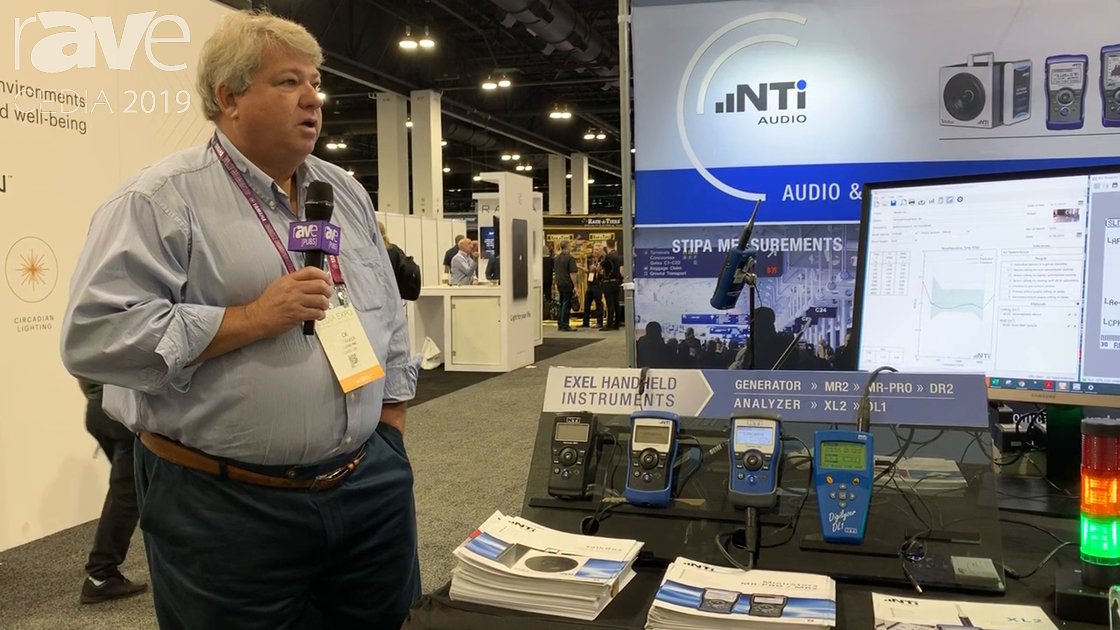 CEDIA 2019: NTi Audio Provides Sound Level Meters and Signal Generators for EQ'ing Room Sound