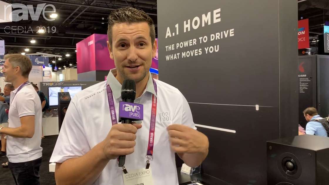 CEDIA 2019: VSSL Intros the A.1 Single-Zone, Two-Channel Audio Streaming Amplifier