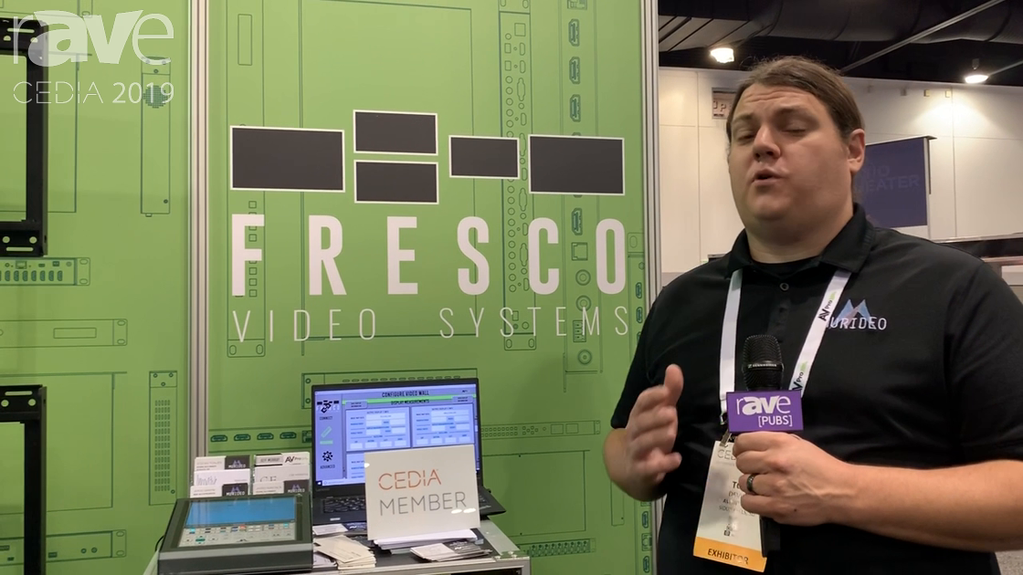 CEDIA 2019: AVPro Edge Reveals the 1×4 AC-FRESCO-CAP-4 4K@60Hz 4:4:4 Video Wall Processor With HDR