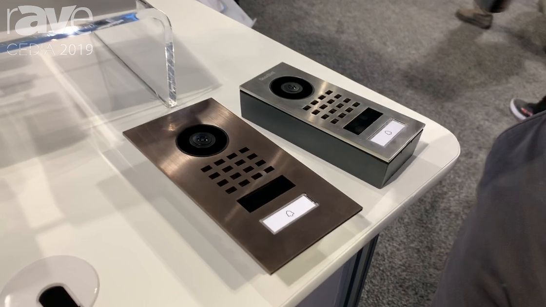 CEDIA 2019: DoorBird Previews the D11 Video Door Entry Station, Available in Flush or Surface Mount
