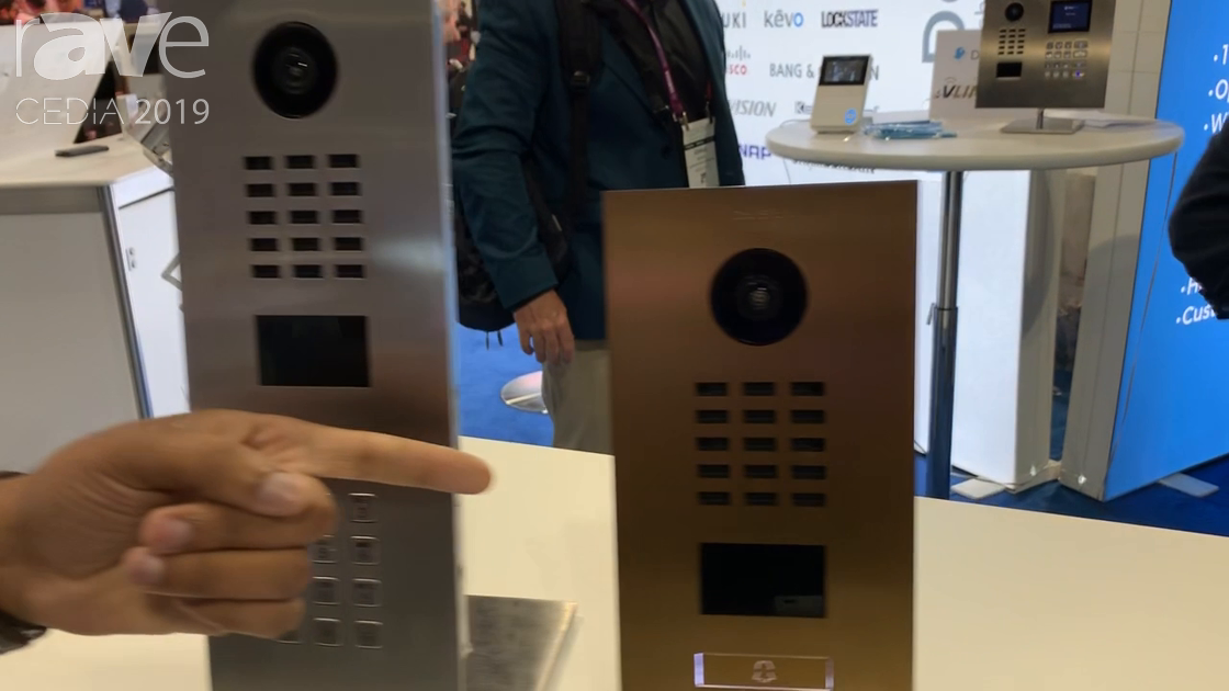 CEDIA 2019: DoorBird Highlights the D2101V and D2101KV Home Entry/Door Solution