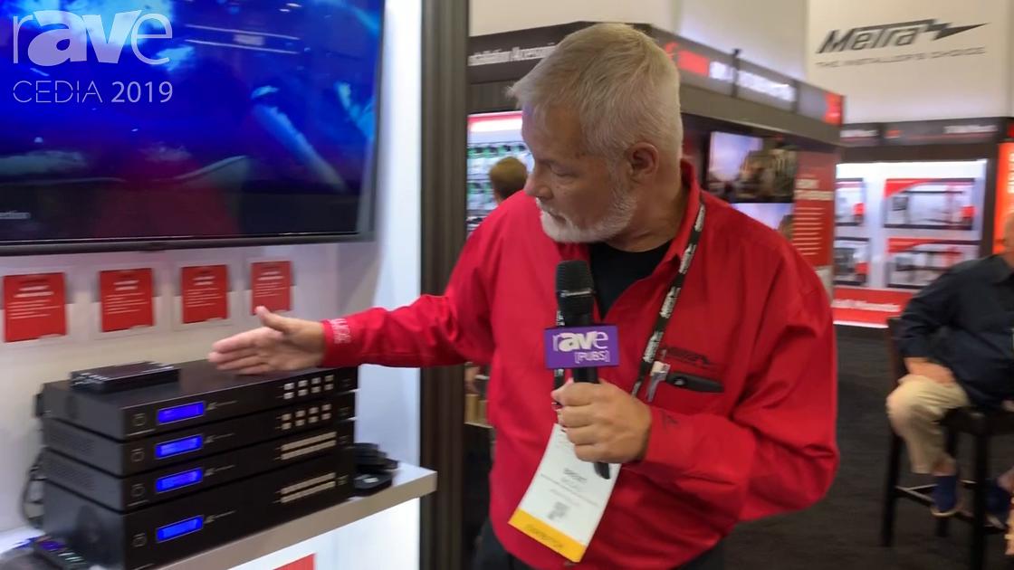 CEDIA 2019: Metra Home Theater Intros 4×4 and 8×8 HMDI Matrix Switchers