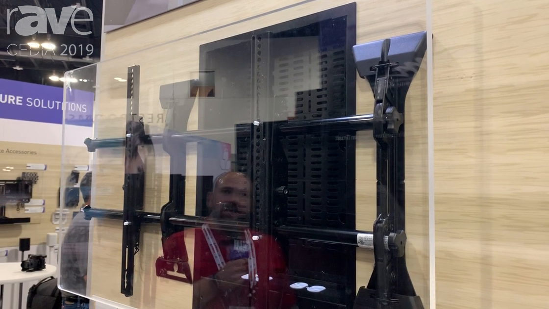 CEDIA 2019: Chief Exhibits the PAC527FBP4 XL In-Wall Storage Box with Mount