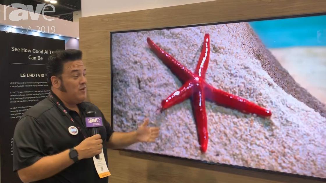 CEDIA 2019: LG Overviews 86UM8070PUA NanoCell Ultra Large 4K HDR 88″ TV