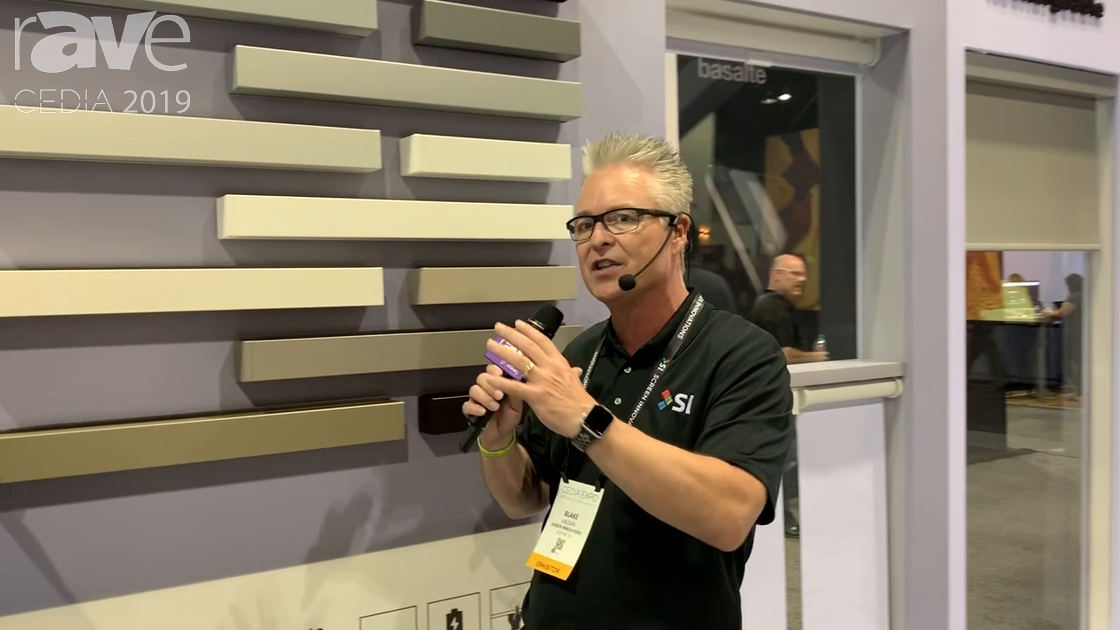 CEDIA 2019: Screen Innovations Exhibits Its Wireless OR Wired Nano Indoor Shades
