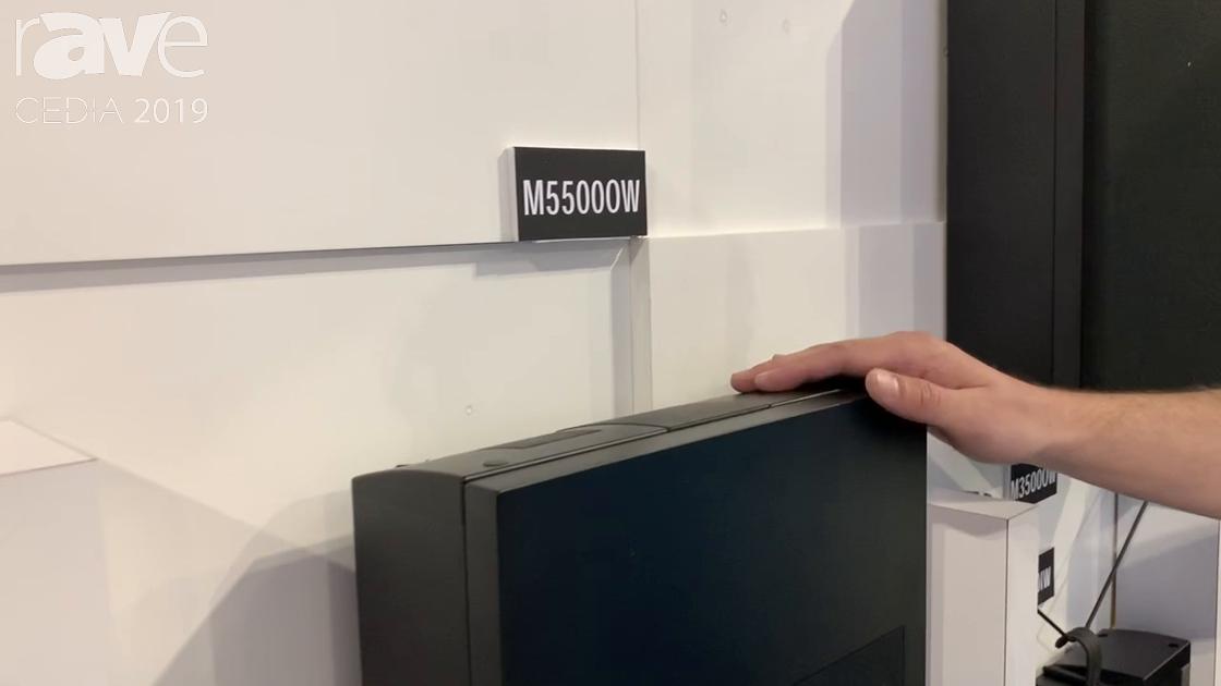 CEDIA 2019: Origin Acoustics Intros M5500W Marquee Cinema Collection On-Wall Loudspeaker