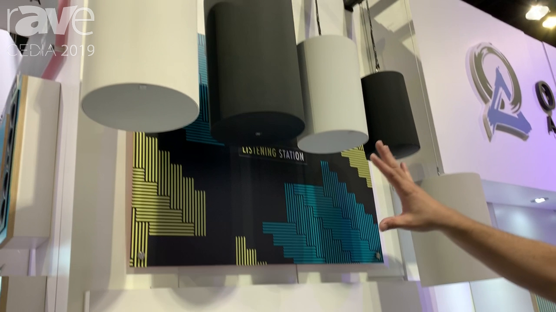 CEDIA 2019: Origin Acoustics Shows Off Its Cylindrical Professional Pendant Speaker