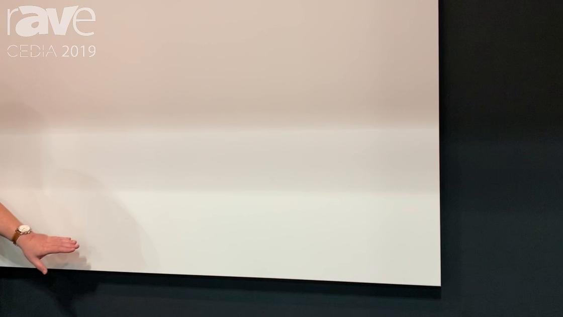 CEDIA 2019: AV Stumpfl Shows Off the Fullwhite Borderless Projection Screen