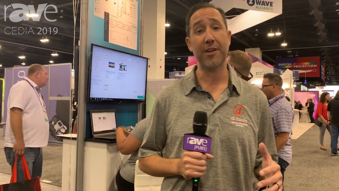 CEDIA 2019: D-Tools' Cloud Is a Browser-Based Software for Sales, Design, Procurement and More