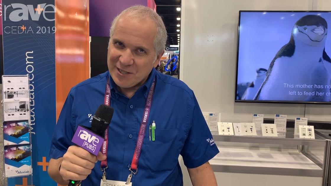 CEDIA 2019: MuxLab Showcases Its H.264/H.265 HDMI PoE Extender, Adds 4K@60Hz Version