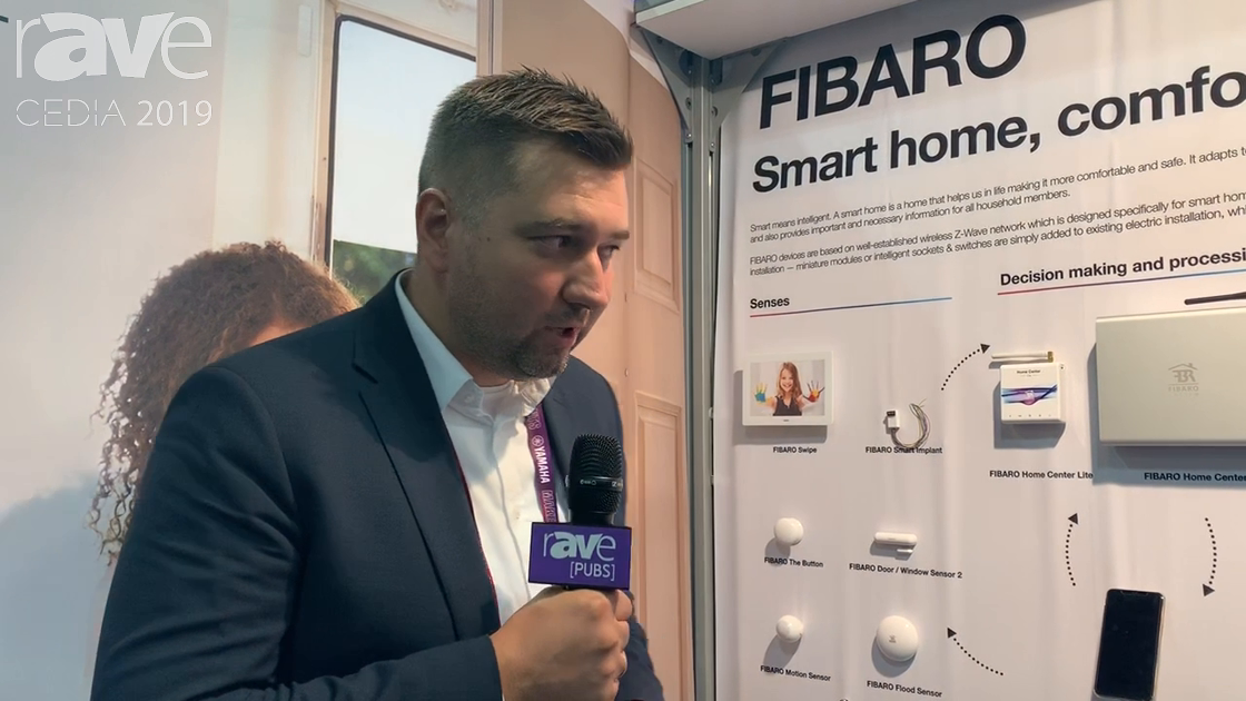 CEDIA 2019: Nice Group Showcases the FIBARO Intelligent Home Solutions