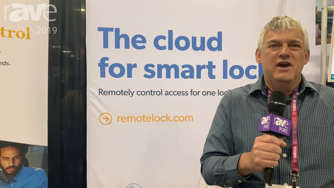 CEDIA 2019: RemoteLock Offers Smart Lock Cloud Platform for Vacation Access (AirBnB)