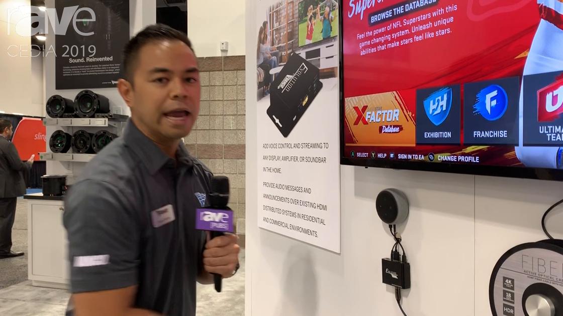 CEDIA 2019: Vanco International Intros Evo Skillz Overlays External Audio via HDMI In/Out