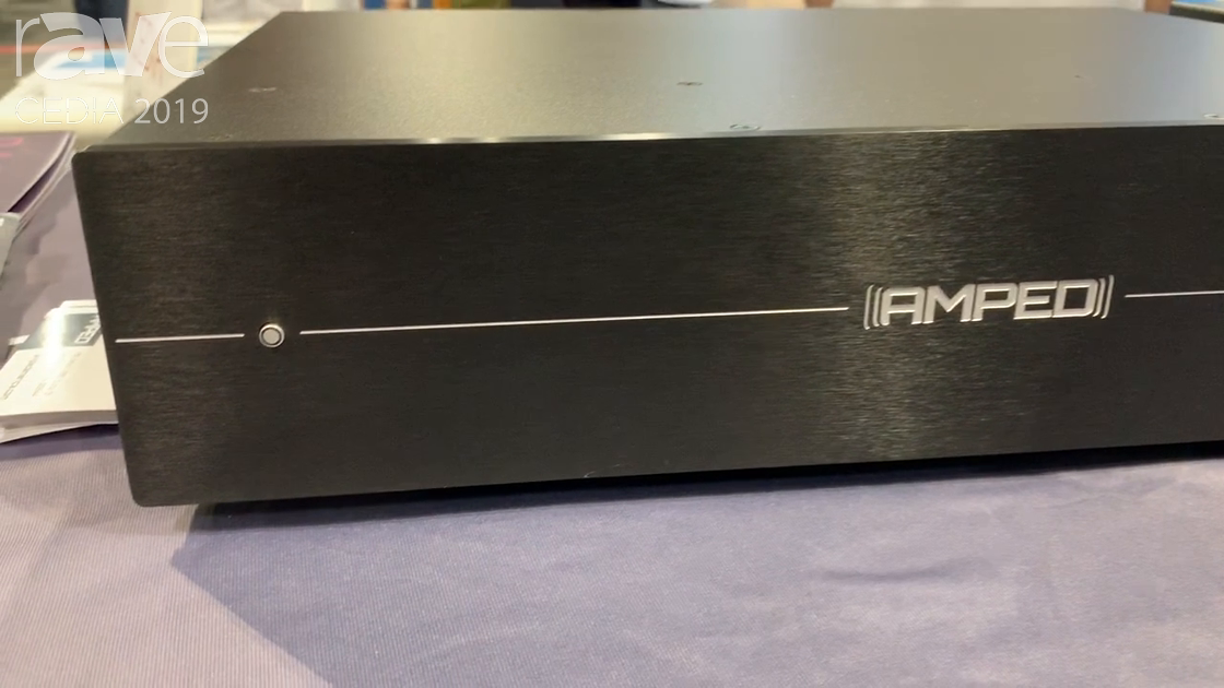 CEDIA 2019: AMPED Showcases 2400 Power Amplifer