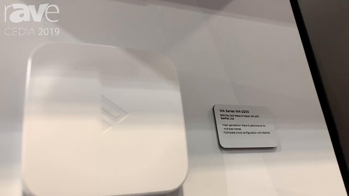 CEDIA 2019: Control4 Intros WA-2200 Wave 2 Wireless Access Point With BakPak Lite