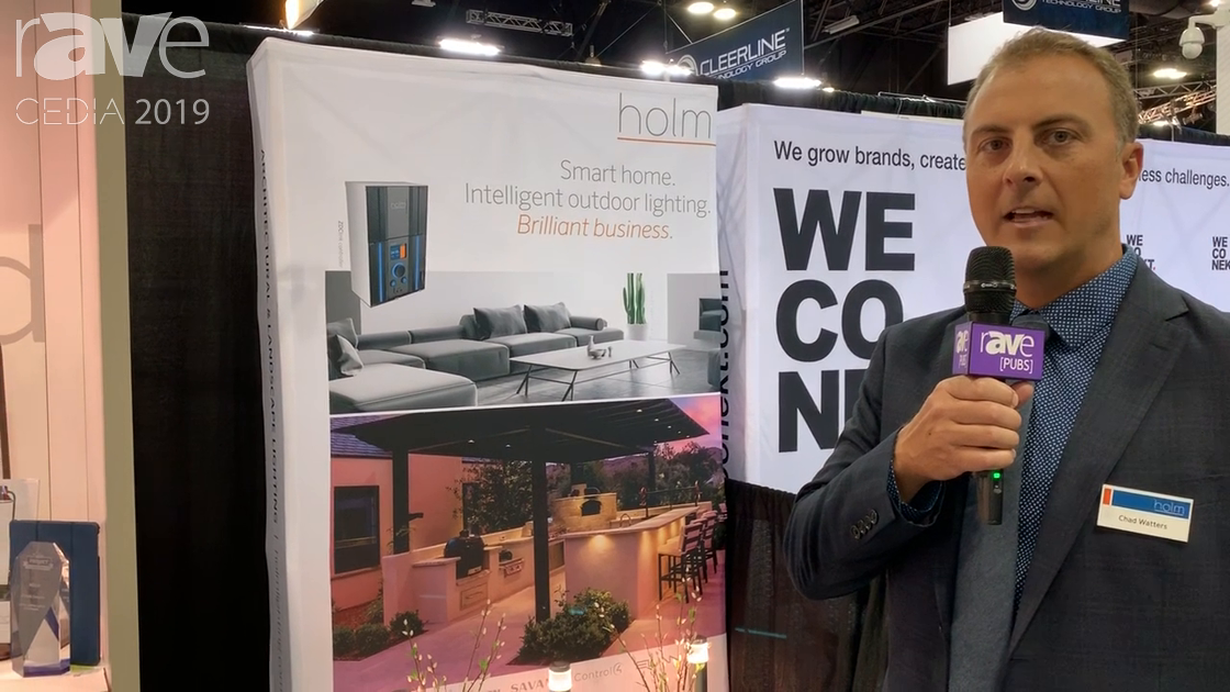 CEDIA 2019: Holm Explains ZDClink Zoning and Dimming Control With Luxor Technology
