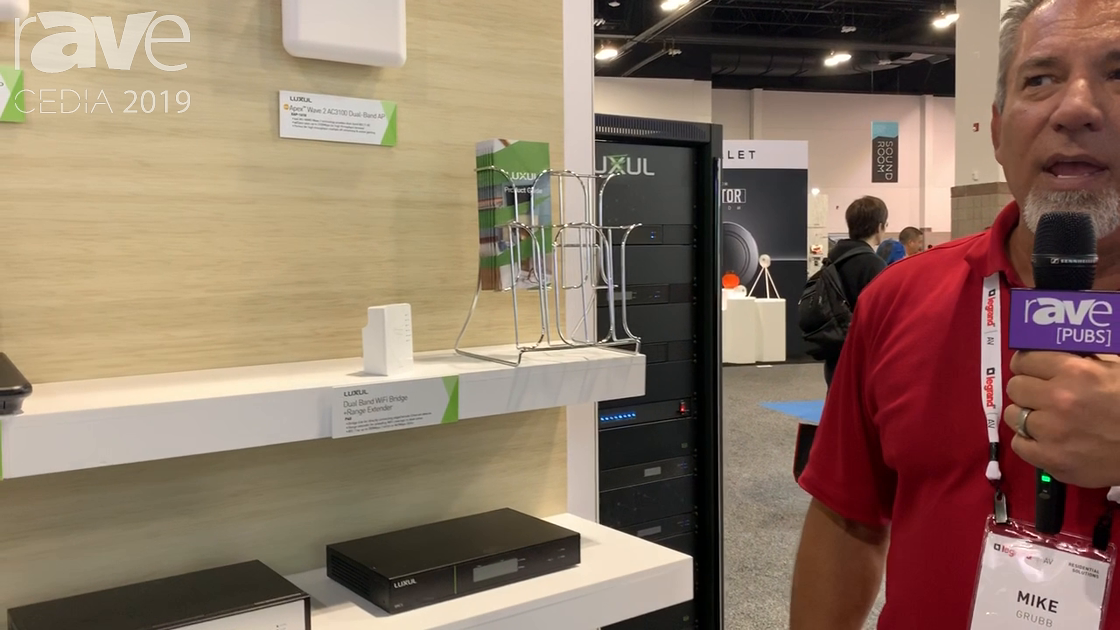 CEDIA 2019: Luxul Discusses Its Apex Wave 2 AC3100 Dual-Band Access Point