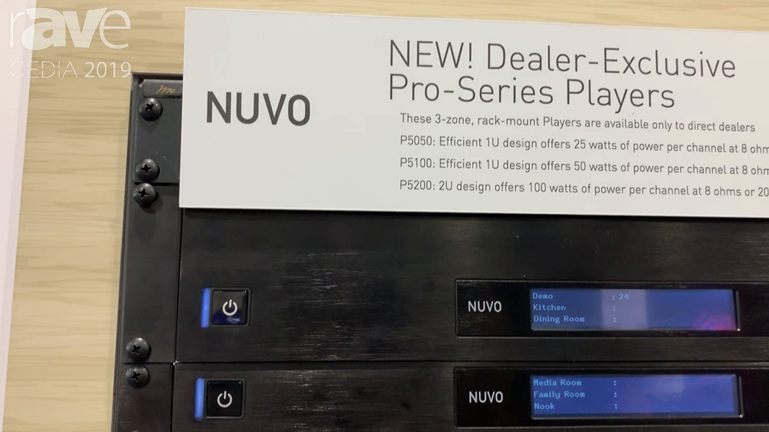 CEDIA 2019: Nuvo Talks About NV-P5000 Pro-Series Rack-Mount Players