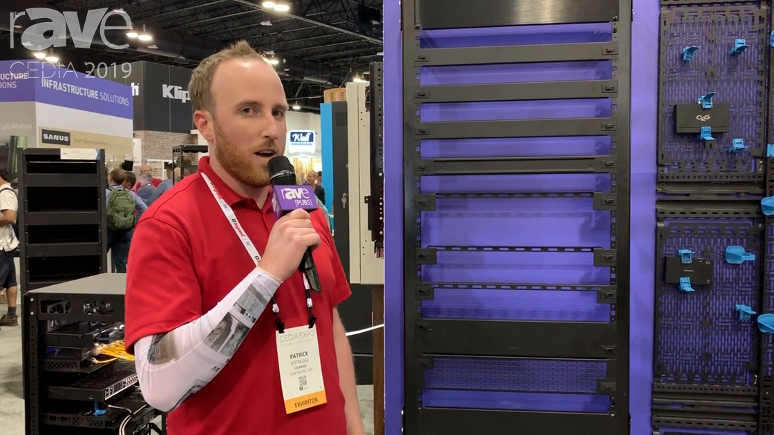 CEDIA 2019: Middle Atlantic Highlights Forward Series Mounting Accessories for Rack Units