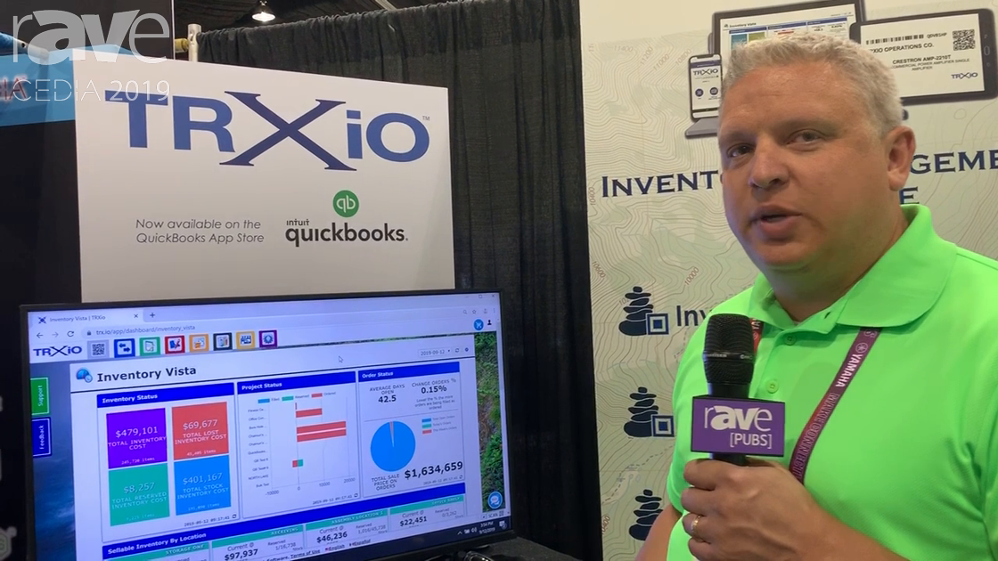 CEDIA 2019: Cairnstack Showcases TRXio Inventory Management and Project Management Software
