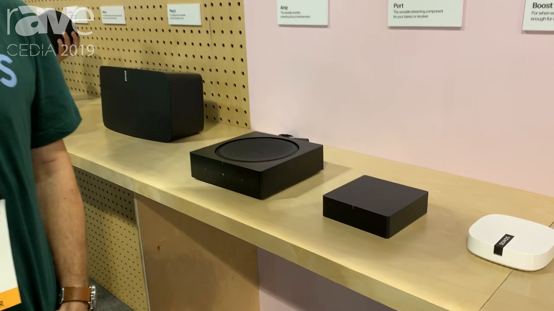 CEDIA 2019: Sonos Highlights Port, a Virtual Streaming Component and Upgrade to Sonos Connect