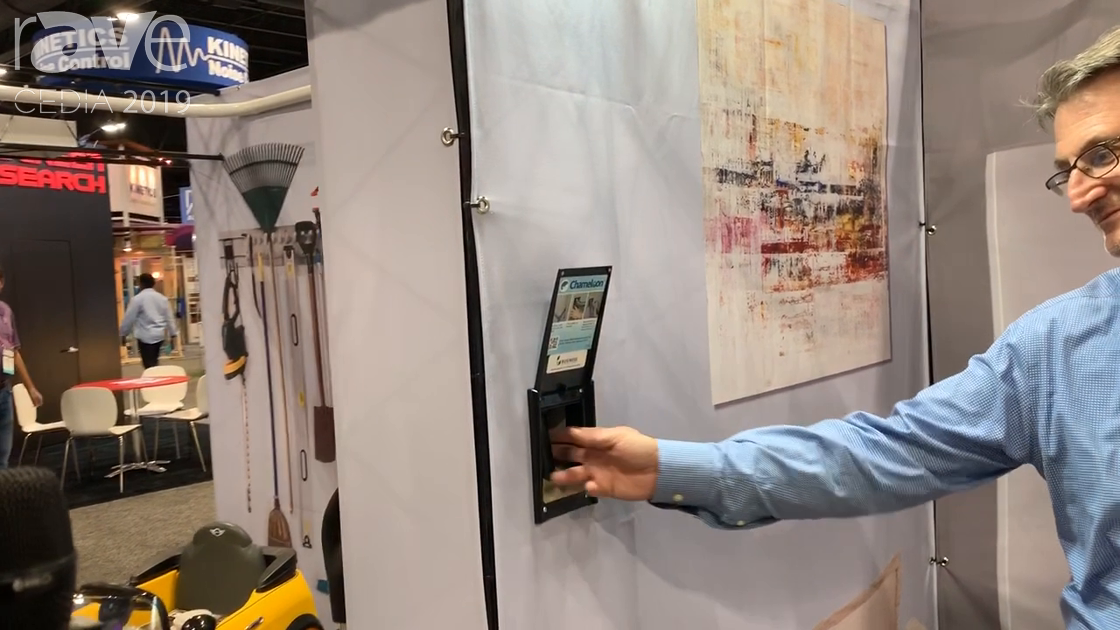 CEDIA 2019: H-P Products Demos New Retractable Chameleon Home Vacuum System
