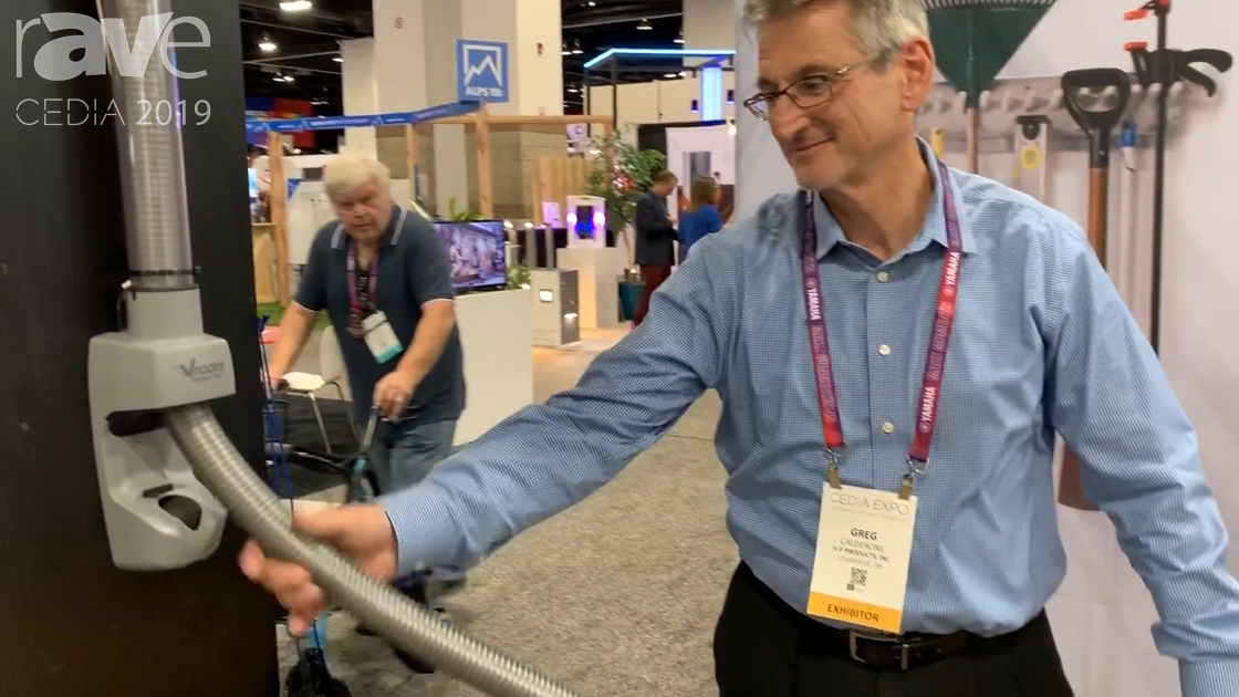 CEDIA 2019: H-P Products Features Vroom Retract Vac System