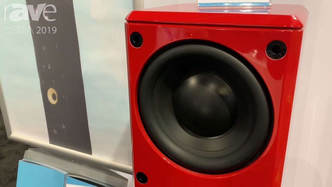 CEDIA 2019: Induction Dynamics Demos ID1 Series Floorstanding Loudspeaker