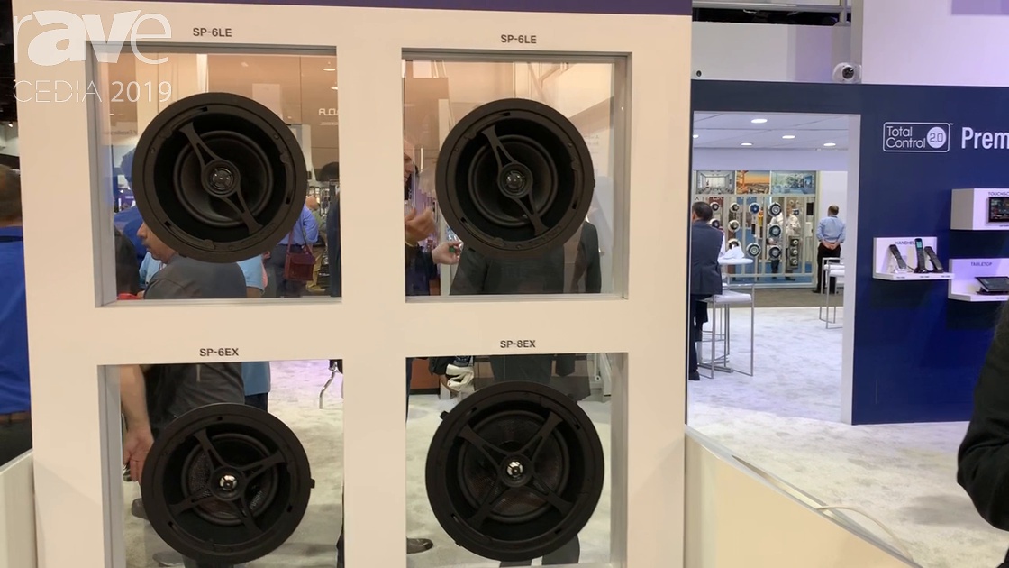 CEDIA 2019: Universal Remote Control Demos New SP Series, Easy-Install In-Ceiling Speakers