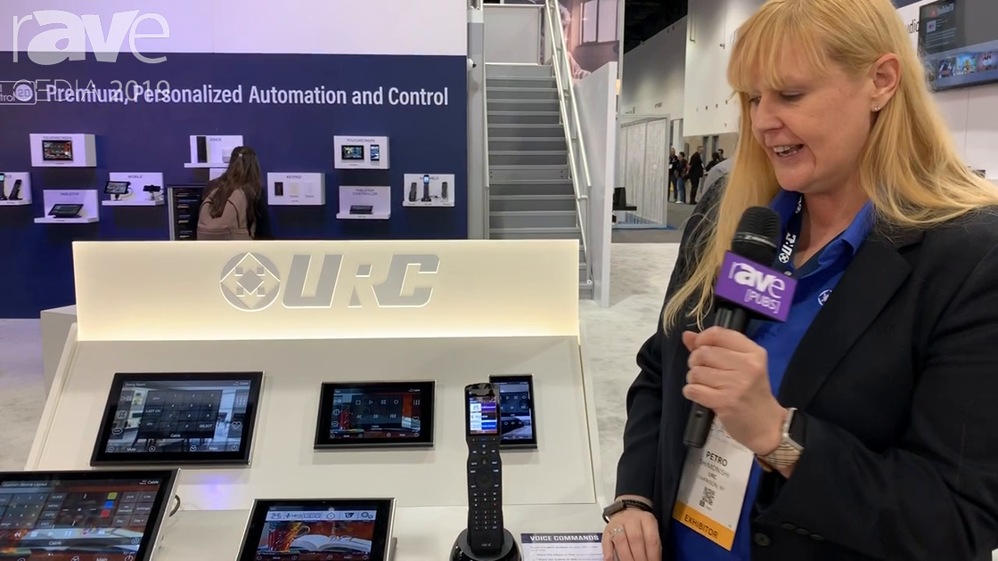 CEDIA 2019: Universal Remote Control Highlights TRC-1480 with Alexa Control Enabled