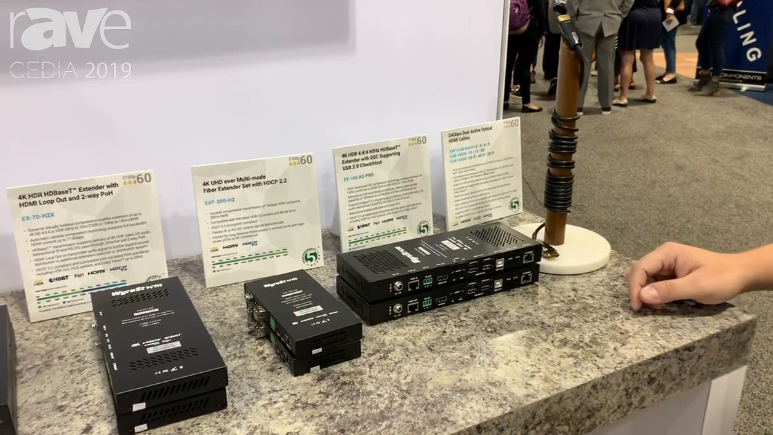 CEDIA 2019: WyreStorm Debuts EX-100-H2-PRO HDBaseT Extender With USB 2.0 Pass-Through